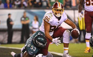 DraftKings NFL Week 1 Value Play - Jordan Reed