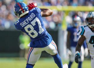 Fantasy Football Wide Receivers Starts Week 6 - Sterling Shepard