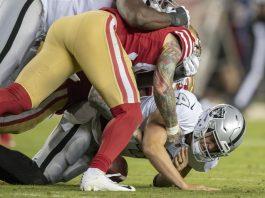 Fantasy Football Quarterbacks Sits Week 11 - Derek Carr