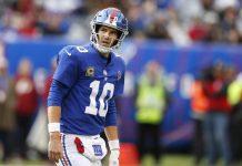 Fantasy Football Quarterbacks Starts Week 12 - Eli Manning