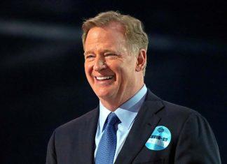 Roger Goodell NFL Draft 2021