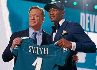 DeVonta Smith NFL Draft 2021