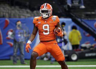Travis Etienne NFL Draft 2021