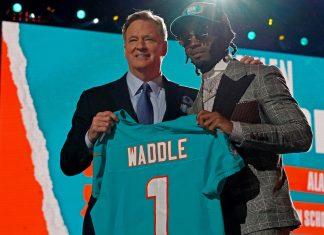 Jaylen Waddle NFL Draft 2021